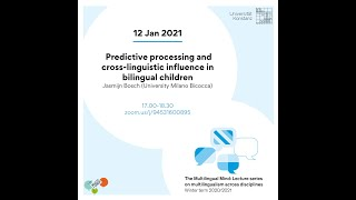 Bosch: Predictive processing and cross-linguistic influence in bilingual children