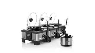 Bella 3 Linkable 2.5Quart Slow Cookers