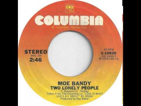 Moe Bandy ~ Two Lonely People