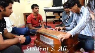 live student singing at Mumbai Film Academy