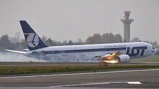 FS2004 - Belly Landing (LOT Polish Airlines Flight 16)