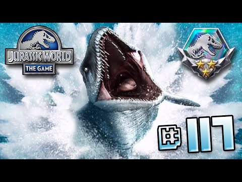 Full Mosasaur Event!! || Jurassic World - The Game - Ep 117 HD