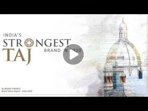 Taj India's Strongest Brand
