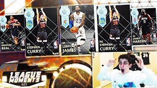 NEW DIAMOND LEBRON JAMES & STEPH CURRY! BEST MOMENT CARDS IN THE GAME?! NBA 2K18 MYTEAM PACK OPENING