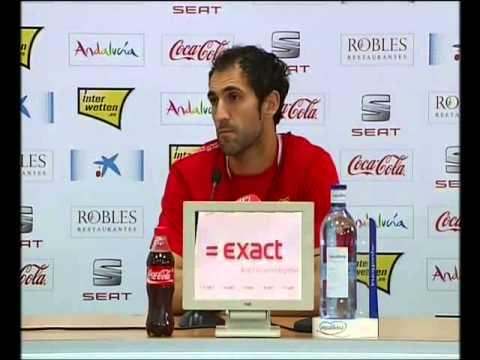 Rueda de Prensa Diego López 29/10/12 Sevilla FC