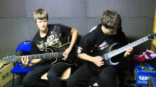 Amon Amarth - Siegreicher Marsch (dual guitar cover)