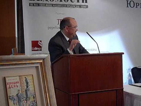 С.Г.Пепеляев: «Надо по-новому взглянуть на роль и задачи адвокатуры».
