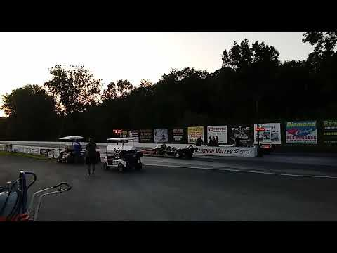 306 mph Pass Jet Car Lebanon Valley Speedway Night Of Fire 2019