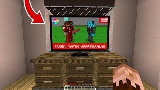 FAKİR TELEVİZYON HABERLERİNE ÇIKTI! 😱 - Minecraft