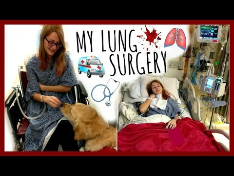 MY LUNG COLLAPSE SURGERY | VATS Mechanical Pleurodesis, Chest Tube & MORE