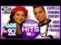 90's Best Eurodance Hits Vol.6 Serega Bolonkin Mix │ Лучшие танцевальные хиты 90 Видеомикс