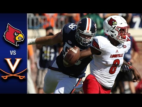 Louisville vs. UVA Football Highlights (2016)
