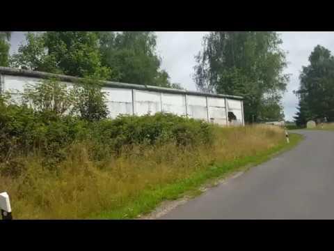 Grenzdenkmal Görsdorf - Ehemalige Innerdeutsche Grenze - Grenzmauer - Heute Kleintierhotel
