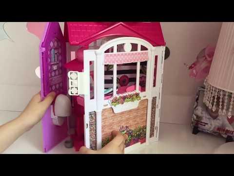 BARBİE'nin Muhteşem Evi | Barbienin Yatak Odası,Banyosu,Mutfağı