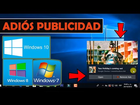 Eliminar Virus Publicitario En Windows 10, 8 & 7 + BLOQUEAR VENTANAS EMERGENTES Google Chrome  2020
