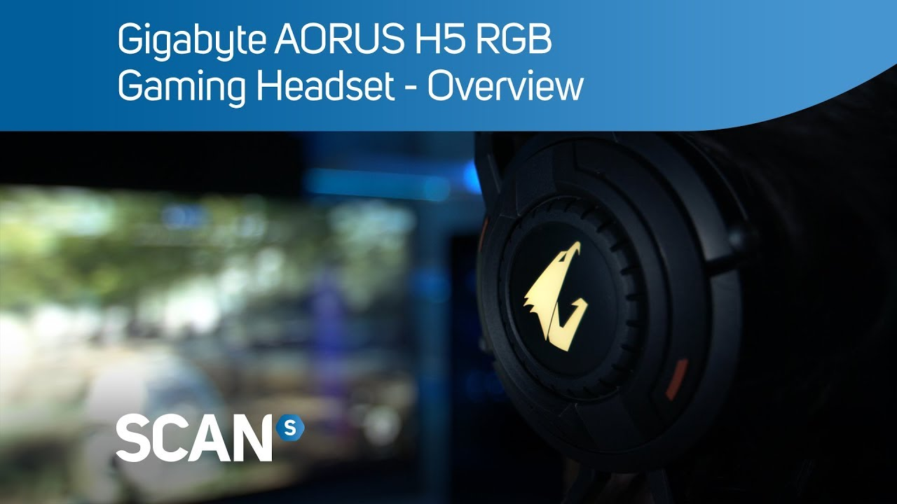 Gigabyte AORUS H5 RGB Gaming Headset - Overview