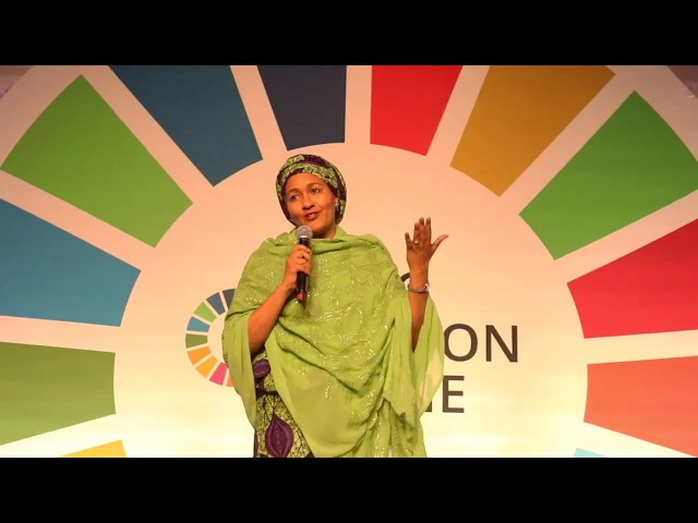 Highlights of the #SDGActionZone 2019 during the High-Level Week of the UN General Assembly.