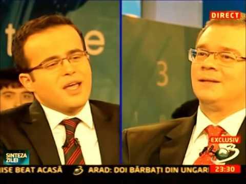 Mihai Gadea la ora de gramatica.