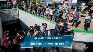 Durante la conferencia de prensa el el titular de la Agencia Digital de Innovación Pública, Eduardoi Clark anunció que la CDMX mantandrá el semáforo rojo durante la semana del 25 al 30 de enero