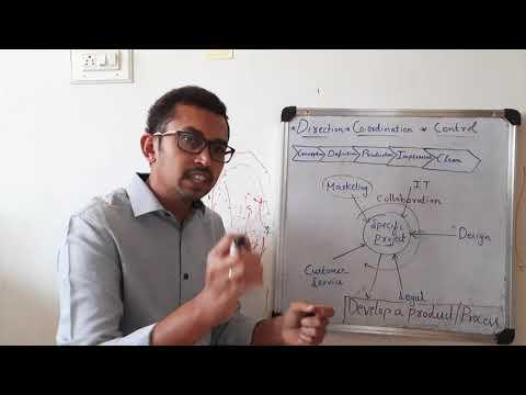 Direction, Co-ordination & Control / Project Management