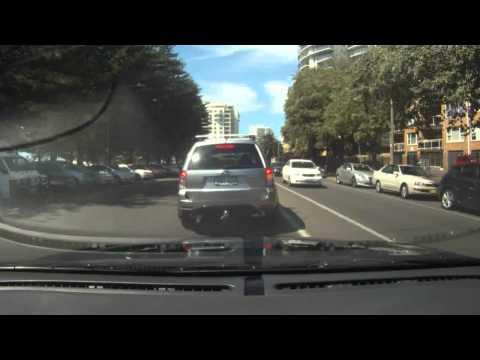 Driving In Australia - Cronulla N.S.W