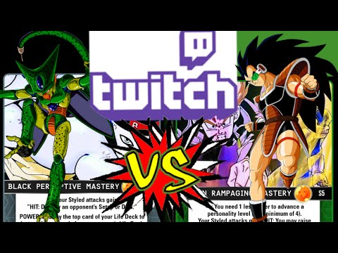 Hard Counter: The Struggle is Real Rampaging Raditz vs Perceptive Cell Twitch Stream 8