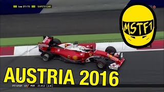 2016 Austrian Grand Prix – Mystery Science Theater F1
