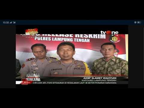"""""""mending saya bunuh aja, soalnya HP saya di ambil"""". Polres Lampung Tengah Mp3"""
