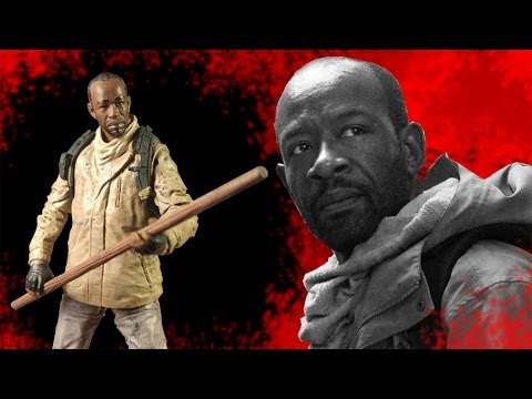 The Walking Dead Series 8 Morgan Action Figure Review