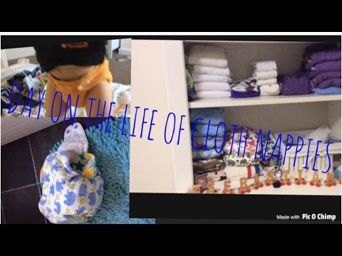 DAY IN THE LIFE (DITL) OF CLOTH NAPPIES/DIAPERING