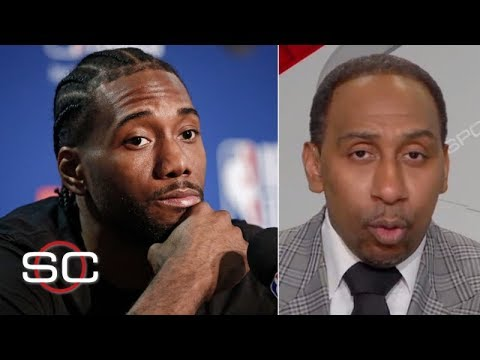 Kawhi Leonard will make his decision 'when he damn well feels like it' - Stephen A. | SportsCenter from YouTube · Duration:  2 minutes 59 seconds