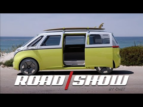 VW's adorable I.D. Buzz charms us on the California coast