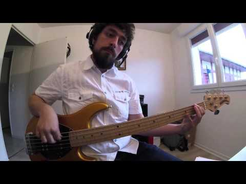 Bee Gees - Stayin Alive Bass Cover