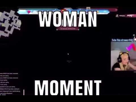 Woman Moment - Woman gaming meme