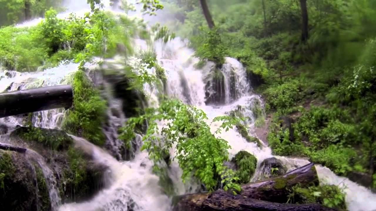 Bad urach wasserfall hochwasser youtube for Ideenoase bad urach