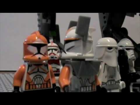 Lego Clone Wars 501st Legion-The Lone Clone (Fan Movie)