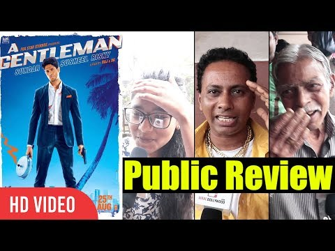 A Gentlemen Public Movie Review | Sidharth Malhotra, Jacqueline Fernandez