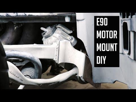 BMW E90 Engine Mount Replacement DIY