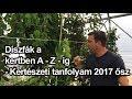Díszfák a kertben A - Z - ig - kertészeti tanfolyam 2017 ősz