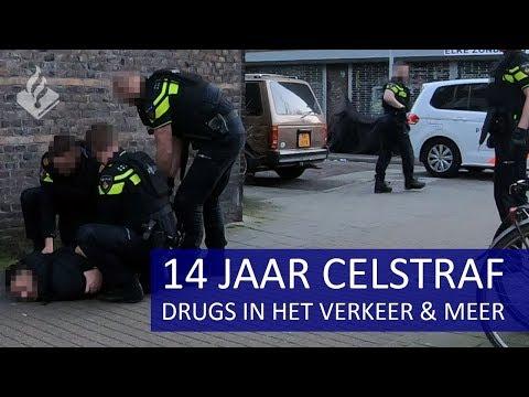 Gesignaleerde aangehouden (14 jaar celstraf) |  Drugs in het verkeer | winkeldiefstal & meer