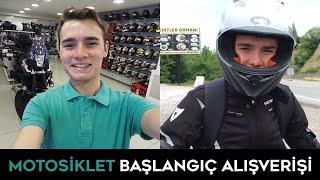 Motosiklete Başlıyorum! Ekipman Alışverişi Video
