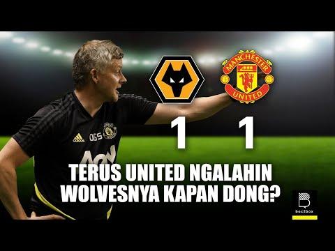 Review Liga Inggris Wolves vs Manchester United
