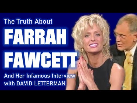 Download The Truth About FARRAH FAWCETT and her Notorious Interview with David Letterman