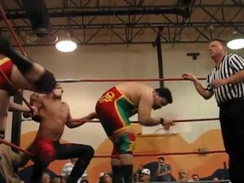 Bandido Sr & ECPW Tag Team Champion Bandido Jr. vs. Kraig Stagg & Dan Marques
