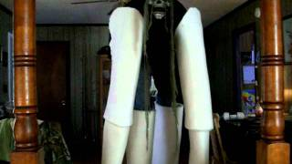 homemade stilt costume part 1