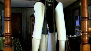 homemade stilt costume part 1