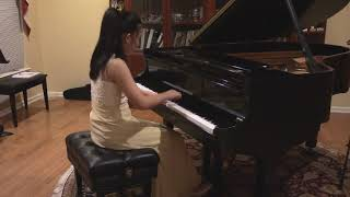 Sonata in Bb Major K. 333. I. Allegro, composed by WA Mozart and performed by Gracelynne Hao