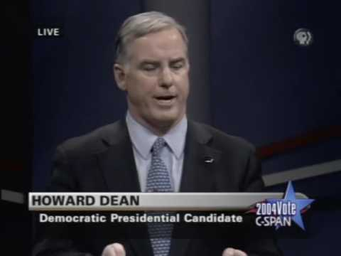 Democratic Primary Debate 2004 (Johnston Iowa)