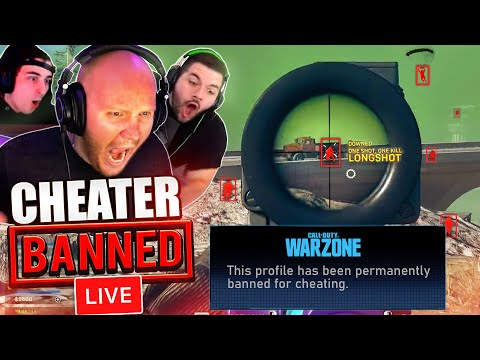 WE GOT A HACKER BANNED *LIVE* ON WARZONE!