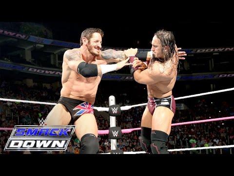 Neville vs. King Barrett: SmackDown, Oct. 8, 2015